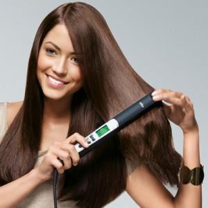 Волнистые волосы с помощью утюжка