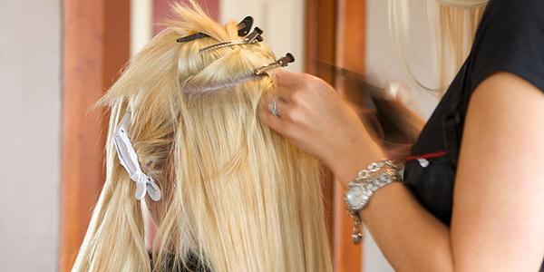 Технология наращивания волос