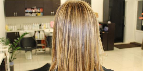 Брондирование волос в салоне