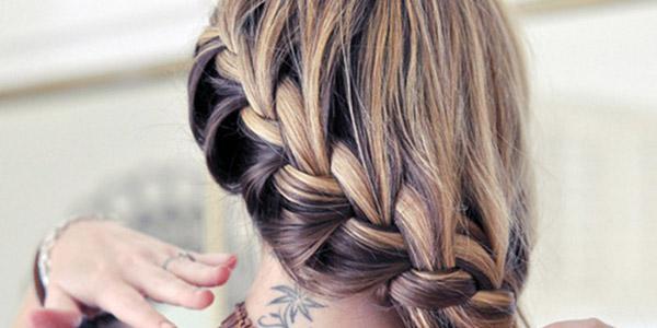 прическа французская коса на длинные волосы