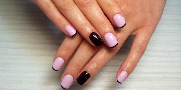 Шри лак на ногтях