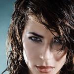 мокрая прическа на длинные волосы