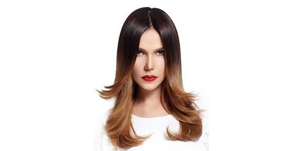 окраска волос деграде