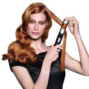 применение стайлера для завивки волос