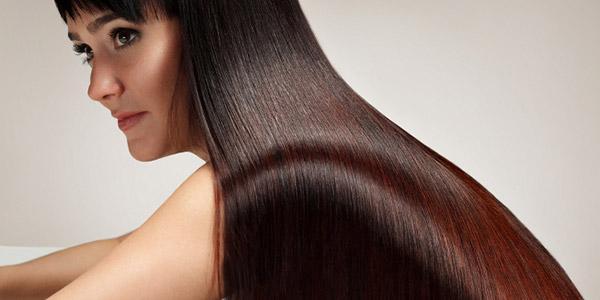 ламинирование волос с эффектом окрашивания