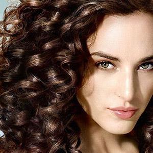 химическая завивка волос крупные локоны