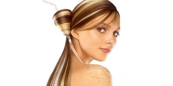 классическое осветление на темно русые волосы
