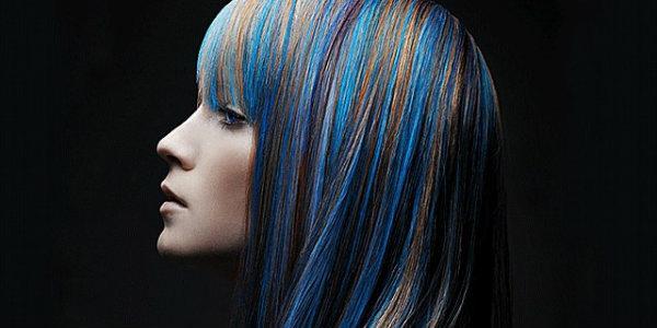 Балаяж волос цвет