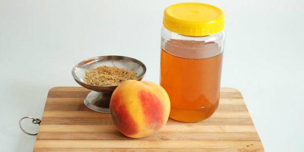 Персиковое масло для волосc