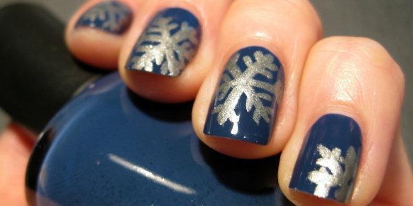 Рисунки на   ногтях простые