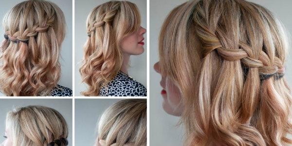 заплести роскошные косы на длинных  волосах