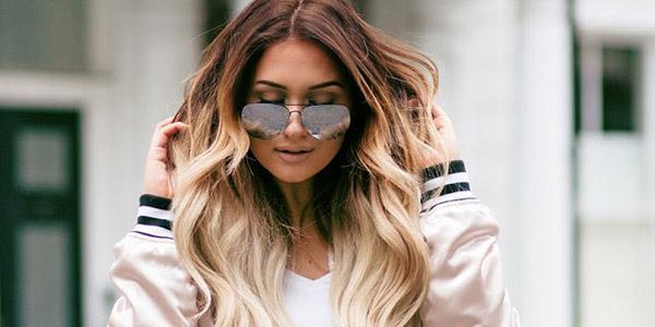 brondirovanie s effektom ombre hair color
