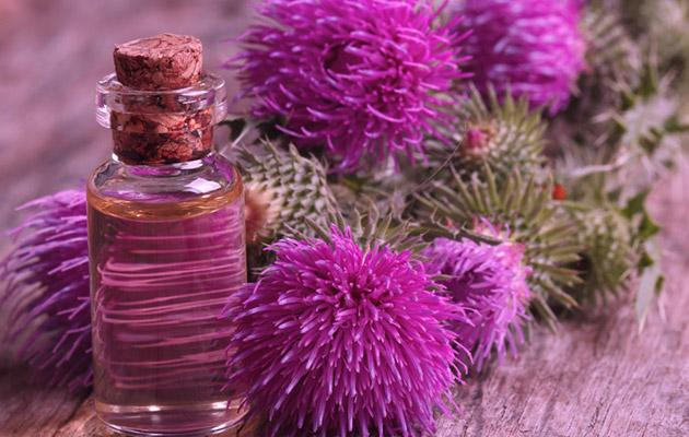 Мгновенное восстановление волос с маской на основе репейного масла: готовим дома