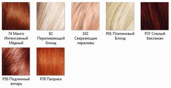 Достоинства и недостатки цветовой палитры краски для волос «Лореаль преферанс»