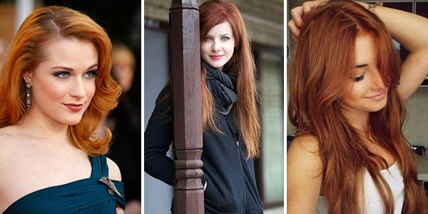 Цвет волос красное дерево: фото, кому идет, отзывы