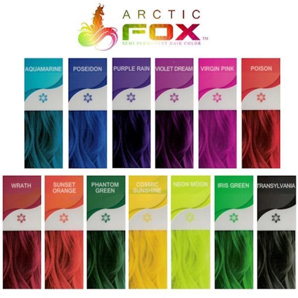 Бескомпромиссная интенсивность цвета с краской для волос Аrctic fox