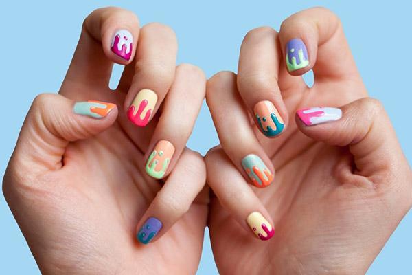 Самостоятельно создаем рисунки на ногтях используя шеллак