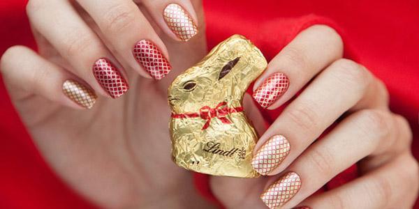 Маникюр красный с золотом – оригинальная идея роскошного дизайна ногтей