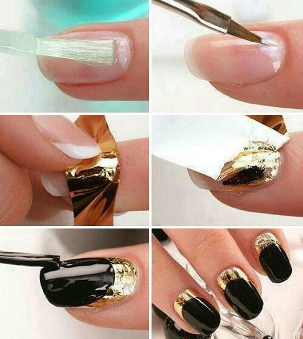 Разбираемся пошагово как наносить втирку для ногтей: создаем зеркальный блеск сами
