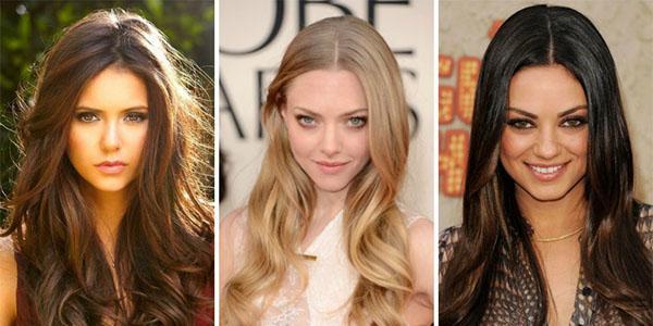 Каскад на средние волосы: варианты без челки