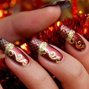 Вязаный маникюр: вяжем дизайнерские свитерки на ногтях