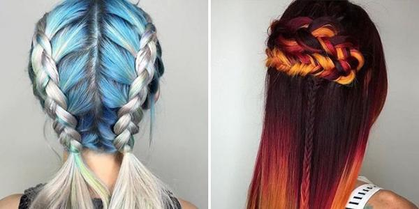 Цветной лак для волос: плюсы и минусы, обзор популярных марок, методы использования