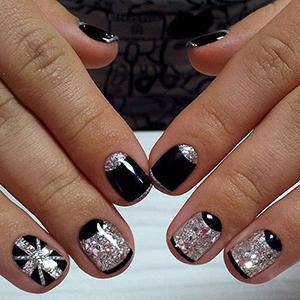 Дизайн черных матовых ногтей: лучшие идеи как можно создать и оформить