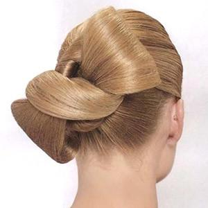 как из волос сделать бантик