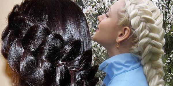 Плетение косичек на короткие волосы: схемы фото