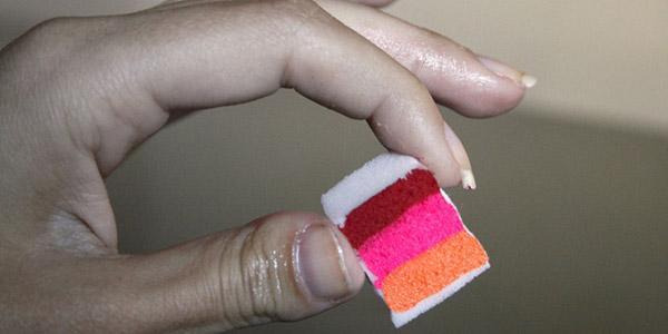 Как сделать маникюр с помощью губки в домашних условиях