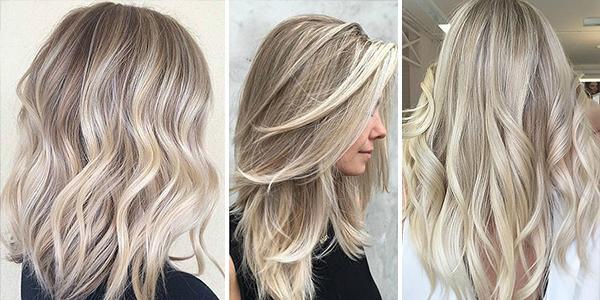 Балаяж на светлые волосы4