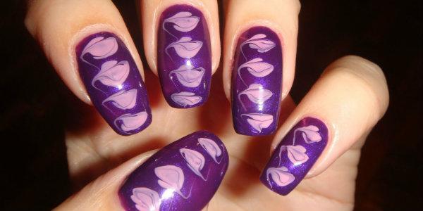 Простые рисунки на ногтях в домашних условиях (фото)