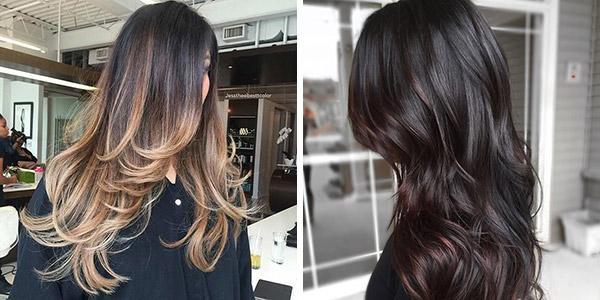 Все секреты балаяжа на темные волосы: правила и этапы выполнения процедуры окрашивания