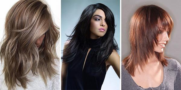 rvanyj-kaskad2 Прически на средние волосы: 100 фото самых стильных укладок