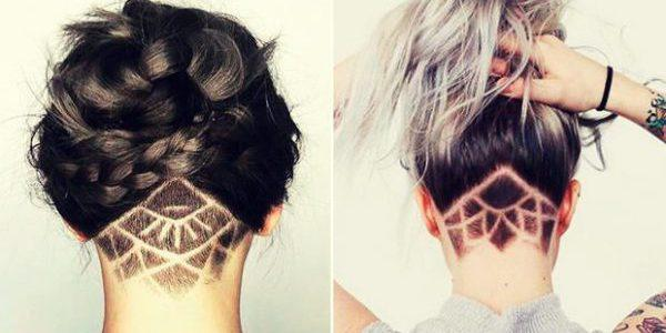 kare-s-vybritym-zatylkom-e1517522891345 Прически на средние волосы: 100 фото самых стильных укладок