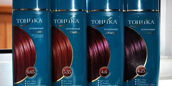 Цветовые палитры популярных оттеночных тоников для волос: Estel, Loreal, Тоника, Нева